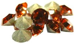 Swarovski 1028 Indian Red 2mm pp14 10 Pc. LIMITED