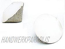 Swarovski 1028 White Opal 9mm ss39 1 Pc.