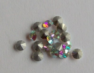 Swarovski 1028 Crystal AB 2mm pp14 10 Pc.