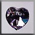 Mill Hill Crystal Treasures - Small Heart 13043