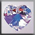 Mill Hill Crystal Treasures - Large Heart 13047