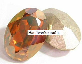 Swarovski 4120 Crystal Copper 18 x 13mm 1 Pc.