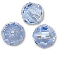Swarovski 5000 Light Sapphire 8mm 1 Pc.