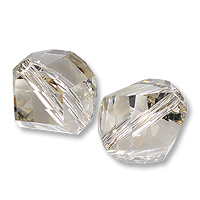 Swarovski 5020 Crystal Silver Shade 8mm 1 Pc.