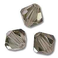 Swarovski 5328 Black Diamond 3mm 10 Pc.