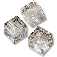 Swarovski 5601 Crystal Silver Shade 4mm 1 Pc.