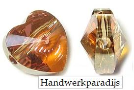 Swarovski 5742 Crystal Copper 8mm 1 Pc.