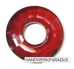 Swarovski 6039 Crystal Red Magma 25mm Per Stuk