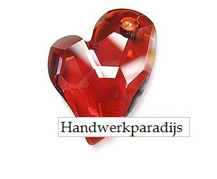 Swarovski 6261 Devodet 2 U Heart Crystal Red Magma 27mm