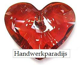 Swarovski 6264 Truly in Love Heart Red Magma 28mm