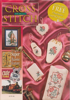 Cross Stitch Issue number Thirty four 1998