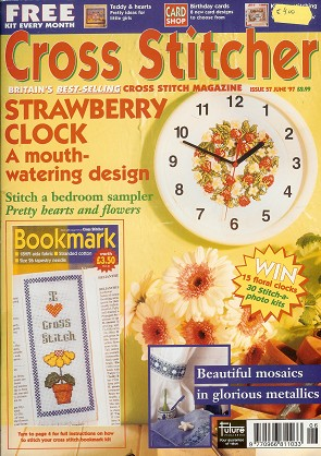 Cross Stitcher 1997 June