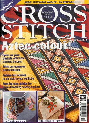 Cross Stitch Collectors Issue 1998 Oktober