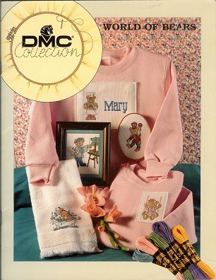 DMC Collection World of Bears with 40 Patterns