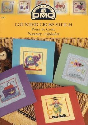 DMC Counted Cross Stitch Nursery Alphabet