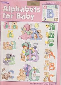 Alphabets for Baby Leisure Arts by Linda Gillum