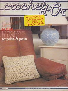 Le Crochet d `Or 1982 Nr.14 April