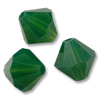 Swarovski 5301 Palace Green Opal 6mm 5 Pc.