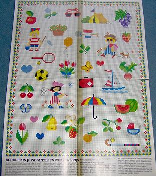 Embroidery in your holiday vacation approx 75 patterns