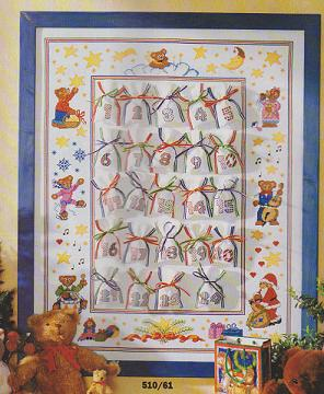 Advent Calendar Pattern Sampler