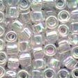 Mill Hill Glass Seed Pebble Bead 05161 White Crystal